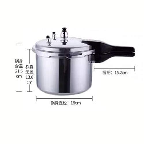 KIODS snelkookpan voor inductiefornuis, 2 l / 3,2 l