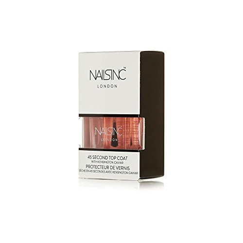NAILS INC Vernis à ongles professionnel original – KENSINGTON CAVIAR 14 ml