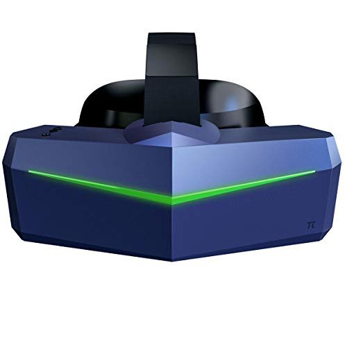 Pimax Vision 8K Plus VR Headset with 4K CLPL Displays, 200 Degrees FOV, Fast-Switched Gaming RGB Pixel Matrix Panels for PC VR Steam Games Videos, Power Adapter