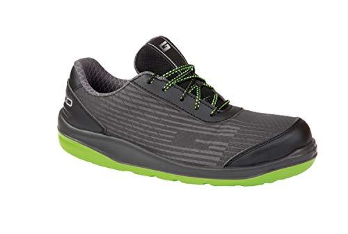 Giasco S1P - Zapato de seguridad para tenis (con suela Ergo Safe), color Negro, talla 38 EU