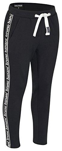 bruno banani Herren Jogginghose/Trainingshose/Sporthose/Freizeithose, schwarz in Größe M