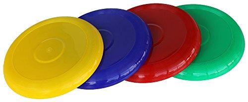Boje Sport Lot de 4 frisbees Soft - 27 cm - 4 Couleurs - 782 à 785-739 à 742