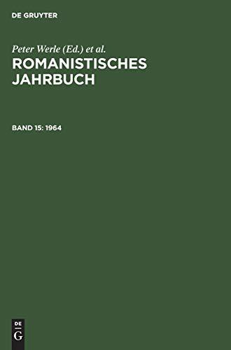 1964 (Romanistisches Jahrbuch)