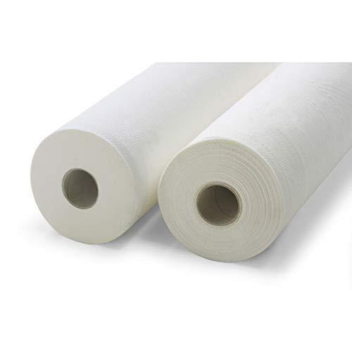 CHINESPORT - Lenzuolo di carta grande per lettini massaggio, rotolo da cm 90 x m 100