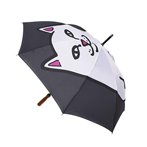 RIPNDIP Regenschirm Lord Nermal Umbrella schwarz (black)