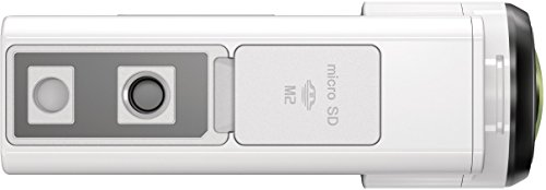 Sony HDR-AS300R Full HD Action Cam mit RM-LVR3 Live Remote Fernbedienung weiß - 3