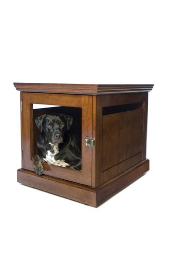 DenHaus TownHaus Indoor Dog House and End Table