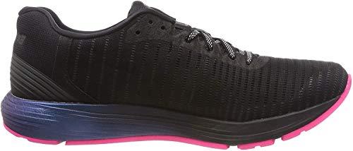 Asics Dynaflyte 3 Lite-Show, Zapatillas de Entrenamiento para Mujer, Negro (Black/Hot Pink 001), 42 EU