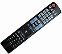 Replacement Remote Control Fit for LG Zenith 42PH4700 50PH4700 60PM6700-UB 60LM7200-UA MKJ40653823 37LF2500 22LF10 Z42PJ240-UB Z50PJ240-UB 6710V00151Z Z42PJ250-UB Smart 3D Plasma LCD LED HDTV TV