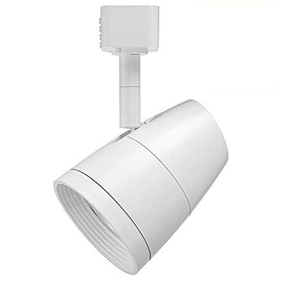 Juno Lighting 27K 80CRI PDIM FL WH R600L 2700K 50W Equivalent Dimmable 10W LED Trac Head with General Optic, Regular Flood Gen 1, White