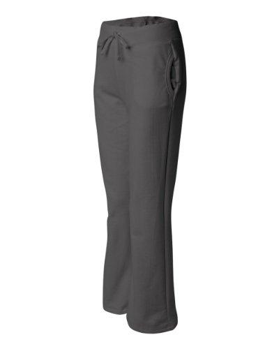 Joe's USA Señoras Suave y Acogedor Yoga Estilo Chándal en 8Colores tamaños S-2X L - Gris -