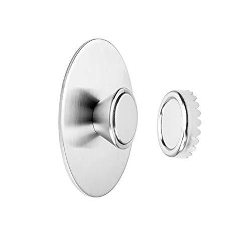 COTTILE Seifenhalter Magnet für magnetische Seifen Aufbewahrung, stabil und robust für Jede Seife, Magnet Seifenschale zum Kleben, Seifenmagnete