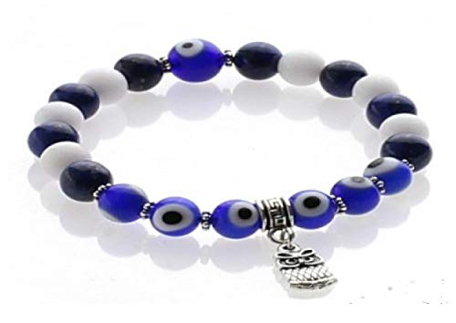UniArt l Armband voor het verwijderen van het boze oog uit lapis lazuli