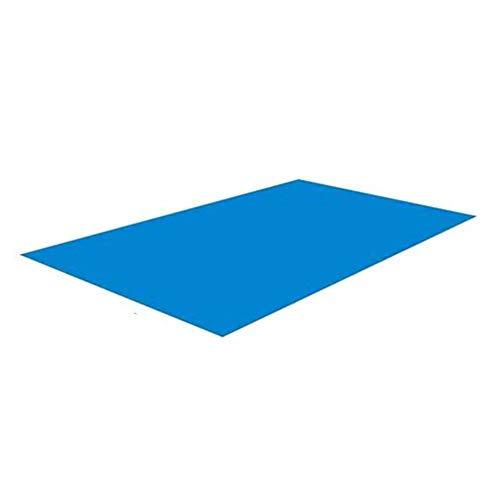 ZARQ Schwimmbadmatte, Rechteckige Faltbare Schwimmbad Boden Matte Bodenschutz für Schwimmbad 338 cm x 239 cm