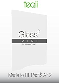 Teqii Glass² Mini for Lifeproof Nuud - Tempered Glass Screen Protector - (Clear, iPad Air 2)