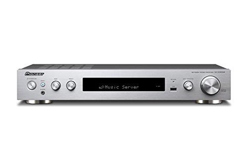 Pioneer SX-S30DAB(S) Ricevitore Stereo (Bluetooth, Wifi, Streaming, Applicazioni musicali, DAB+, Dolby TrueHD, Audio ad alta risoluzione, 85 Watt/Kanal, ingresso anteriore USB/Audio, HDMI), argento