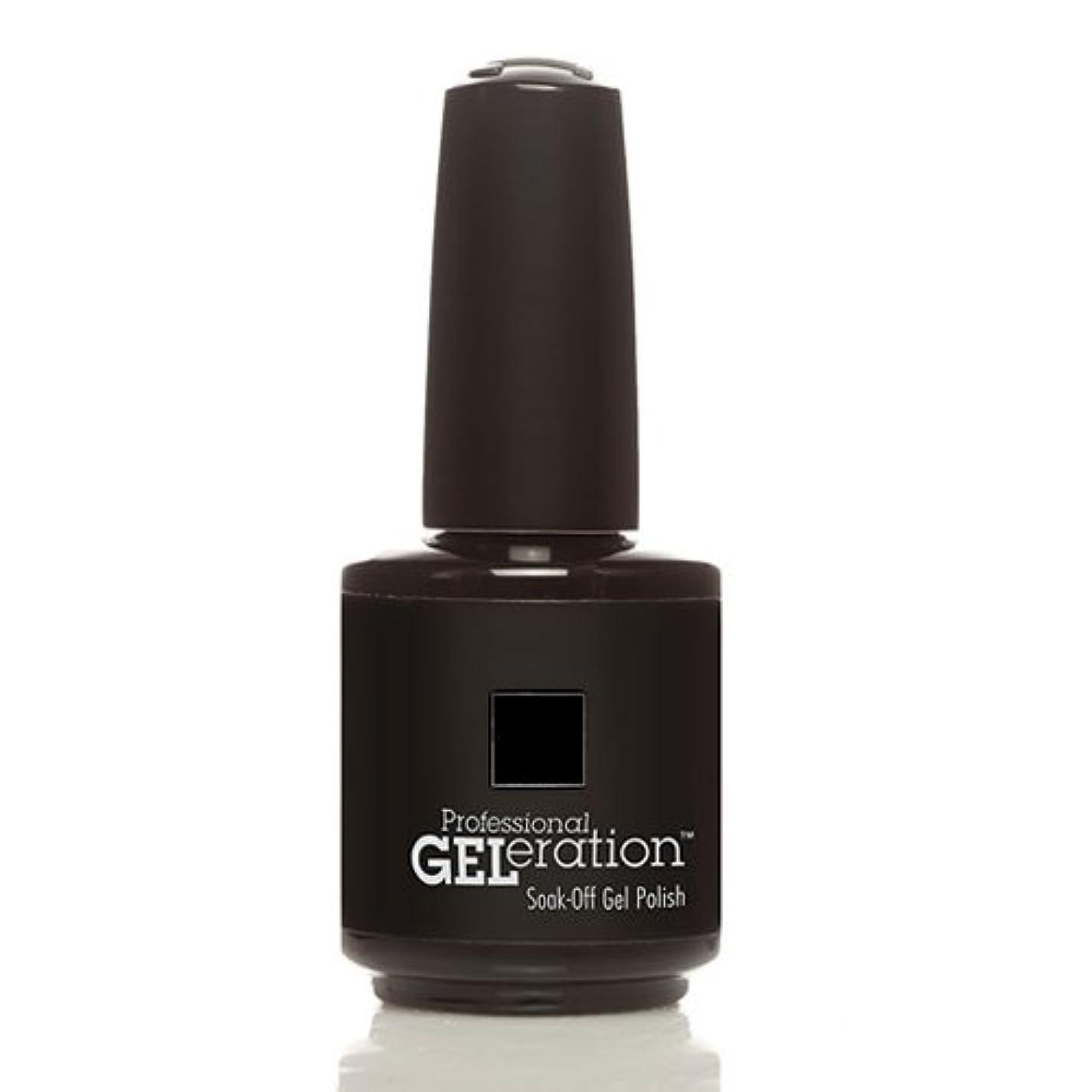 会社努力する同様にJessica GELeration Gel Polish - Black Lustre - 15ml / 0.5oz
