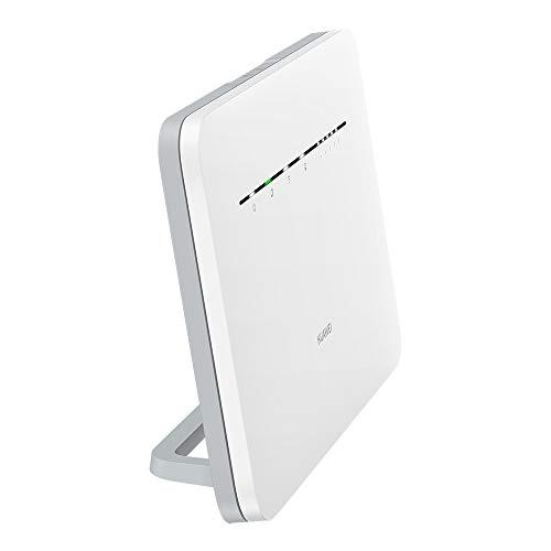 Huawei B535 4G LTE Router 3Pro (Cat.7, 4G LTE bis zu 300 Mbit/s(Download), 100 Mbit/s(Upload), WiFi 300Mbps(2.4GHz)+867Mbps(5GHz), 4x Gigabit LAN) Weiß