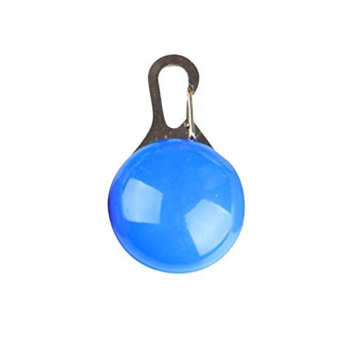 Hunde Sicherheits Clip-On LED Blinklicht Hunde LED Licht Wasserdichtes Leuchtanhänger Schlüsselanhänger Haustier Sicherheitslicht 3 Blinkmodis für Hund,KatzenL,äufer,Jogger,Camper,Fahrradfahrer
