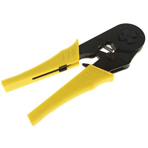 LUISONG FANMENGY Alicates AWG12-5 trinquete alambre Crimping herramienta crimpadora conector de crimpado pelacables
