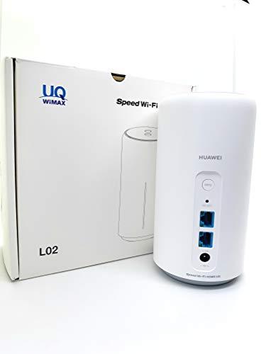 Speed Wi-Fi HOME L02 white UQ版 白
