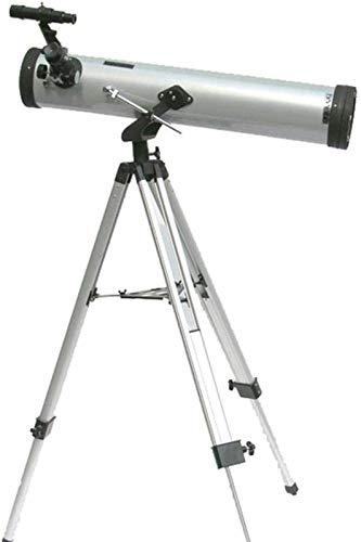 SLM-max Telescopio HD, Gran Apertura Reflectante Astronómico 350 Veces Ultra Zoom Monocular para Observación Espacial