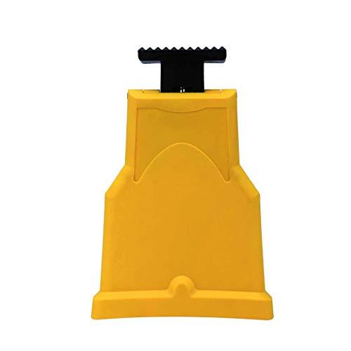 Afilador de dientes de motosierra Cadena de sierra patentada Herramientas portátiles de afilar piedra de afilado rápido