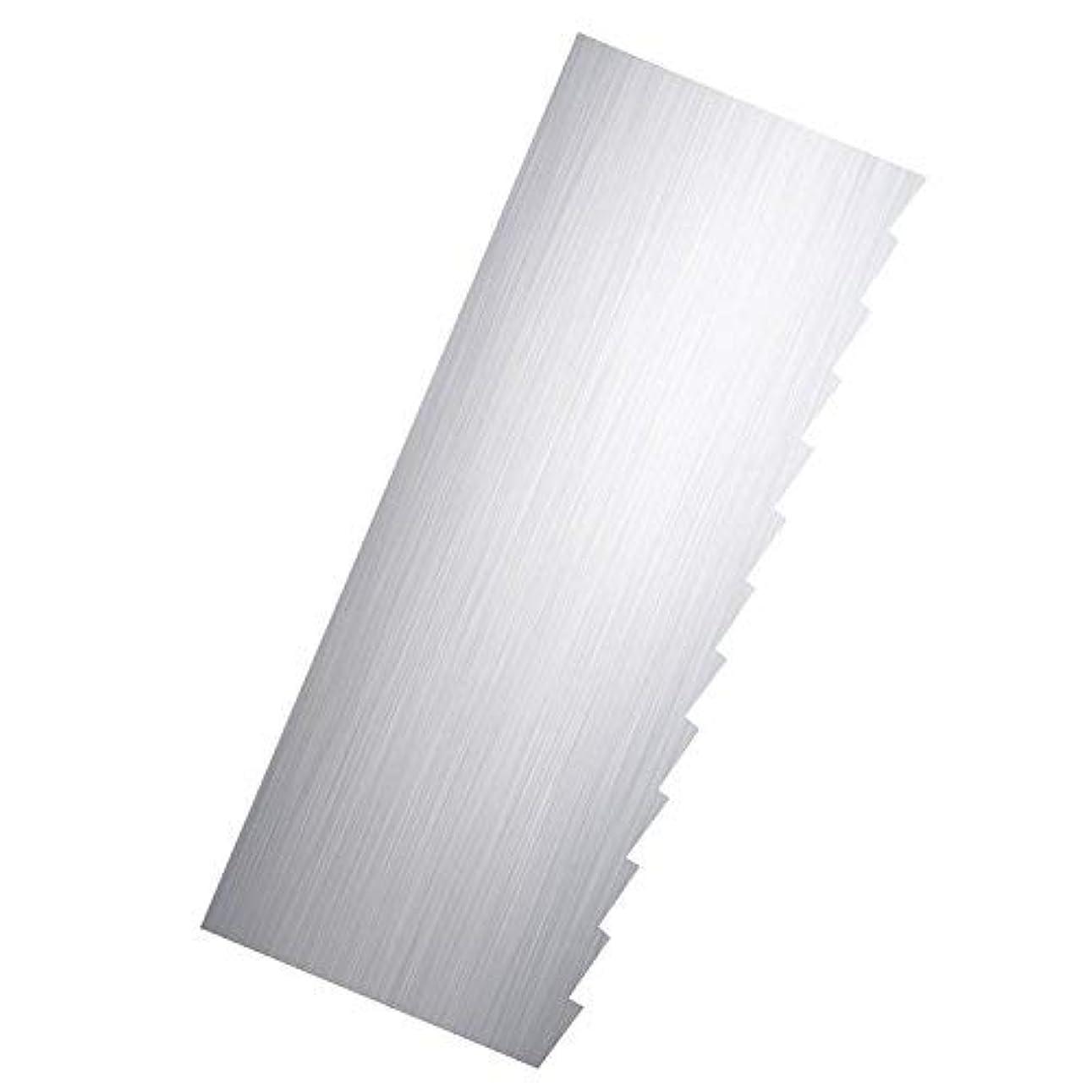 冷える入射彼らのものRibbon Stripe Pleated Contour Combs Scraper [並行輸入品]