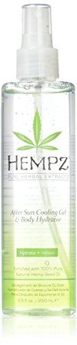 Hempz After Sun Cooling Gel & Body Hydrator, Peach Nectar, 8.5 Fluid Ounce