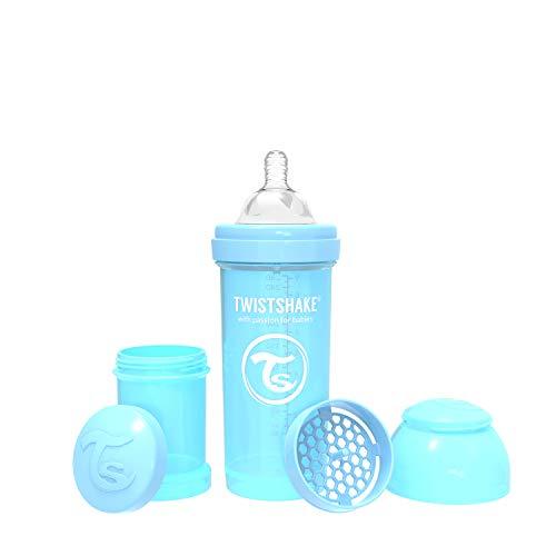 Vital Innovations 78256 Trinkflasche Twistshake Anti-Kolik, 260 ml, blau