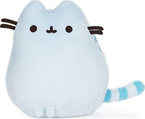 GUND Pusheen Squisheen Pet Pose Plush Stuffed Animal Cat, Blue, 6'
