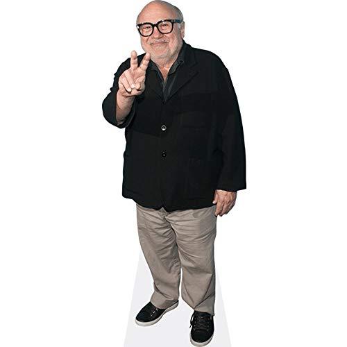 Celebrity Cutouts Danny DeVito (Peace) Pappaufsteller Mini