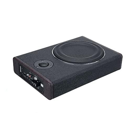 "LQIAN 800W 8"" Car Amplifier Subwoofer Car Audio Slim Under Seat Active Subwoofer Bass Speaker Car Subwoofer Sub"