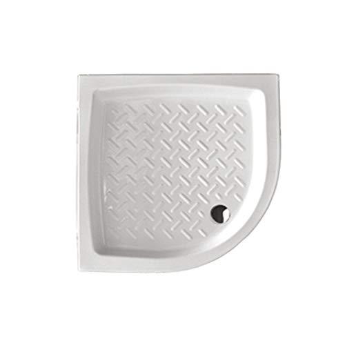 Ceramica Althea - Piatto Doccia Hera 90X90X11H Curvo - Incluso di piletta sifonata della Silfra.