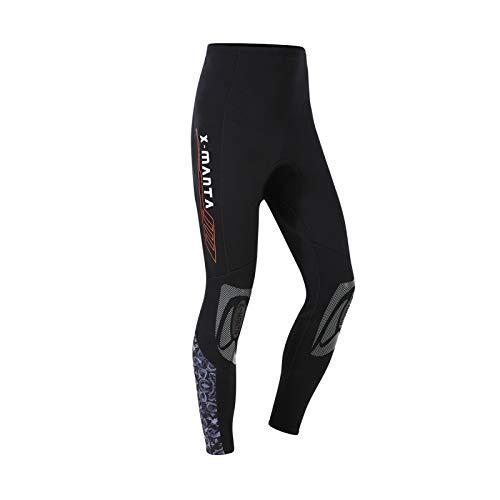 Owntop Pantaloni da Muta Uomo Donna Gioventù - Muta Pantaloni da Immersio in 3mm Neoprene Tuta da Sub Termica UV 50+ Costumi da Bagno per Surf Nuoto Sport Acquatici, L