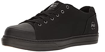 Timberland PRO Men s Disruptor Oxford Alloy Safety Toe EH Industrial & Construction Shoe Black/Black Canvas 10