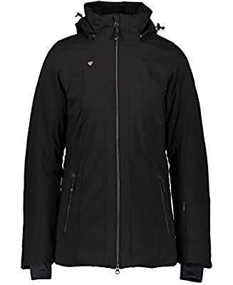 Obermeyer Womens Siren Jacket, Black, 6