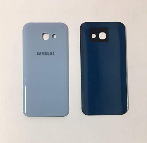 Todotumovil Tapa Trasera de bateria Cristal Trasero para Samsung Galaxy A3 2017 Back Cover Azul