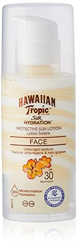 Hawaiian Tropic Silk Hydration Sun Lotion Air Soft Face Sonnencreme LSF 30, 50 ml, 1 St