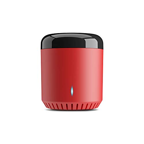 Broadlink New Red Bean RM Mini 3 All-in-One IR Universal Remote Control Compatible with Alexa Google Home