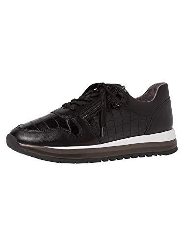 Jana Damen Sneaker 8-8-23733-25 001 H-Weite Größe: 37 EU