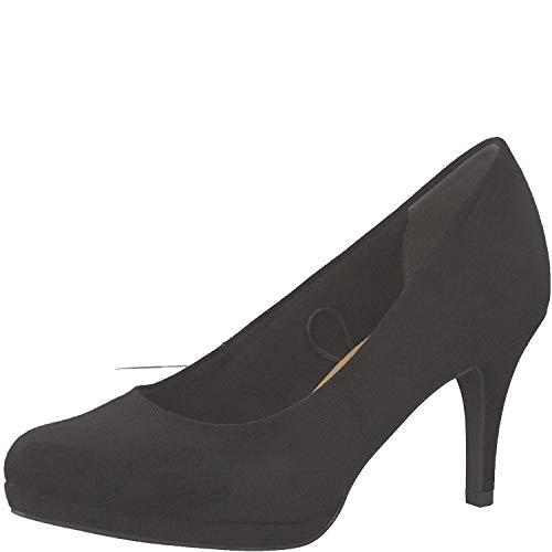 Tamaris Damen KlassischePumps 1-1-22464-32, Frauen Court-Shoes,Absatzschuhe,Abendschuhe,Stöckelschuhe,Touch-IT,Black,37 EU