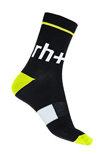Zero RH+ Icx9181 917Xxl, Zermerinosock Unisex Adulto, Black/Yellow Fluo, XXL