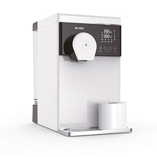 smardy blue noura Premium Wasserbar – Auftisch Osmoseanlage Wasserfilter mobil – 4 Temperaturstufen - UV Sterilisation