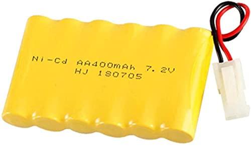 7.2V 400mAh Batería para 516 558 549 RC Toys Carte Piezas DE Recambio DE Recambio DE Camiones 6 * AA Paquete de baterías-S