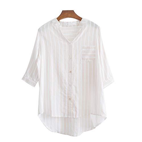 ZHJ Mid-Length Allentato Banda Protezione Solare Abbigliamento Fata Maniche Selvatica Tutti-Partita Indumenti di Protezione Solare (Color : B, Size : M)