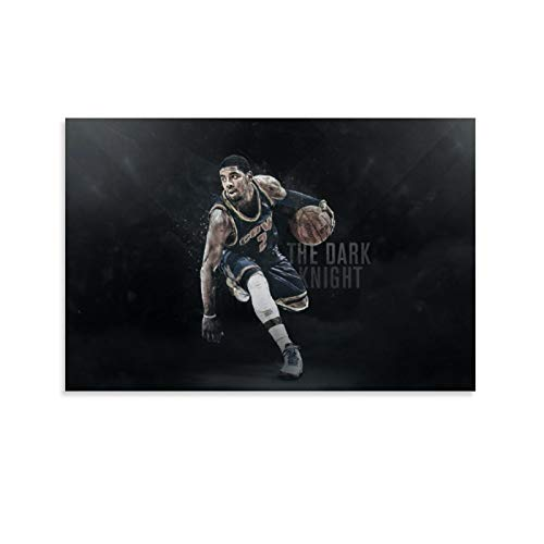 YISHUI Basketball Player Kyrie Irving Wallpaper Canvas Art Poster and Wall Art Picture Print Modern Family Bedroom Decor Posters 20x30inch(50x75cm)