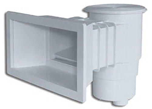 Productos QP Skimmer Standard Boca Larga 360 Abs Tapa Redonda, Negro, 49x57x45 cm,...