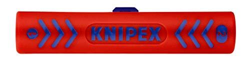 KNIPEX 16 60 100 SB Abisolierwerkzeug für Koaxialkabel 100 mm (in SB-Verpackung)