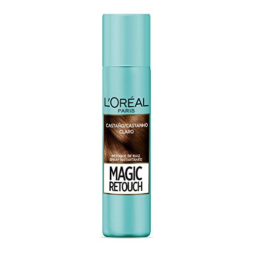 Retocador de raíces Magic Retouch L'Oréal Paris Tono Castaño Claro, 75ml